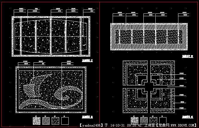 中式铺装设计施工图