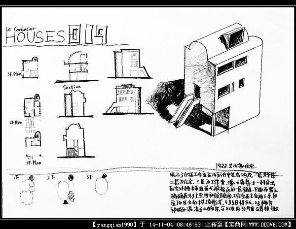 抄绘建筑平面图步骤