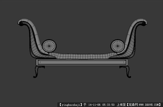 定鼎网 定鼎素材 三维模型 室内模型 3dmax家具室内建模 原创模型