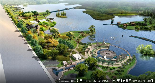 滨水公园景观设计套图