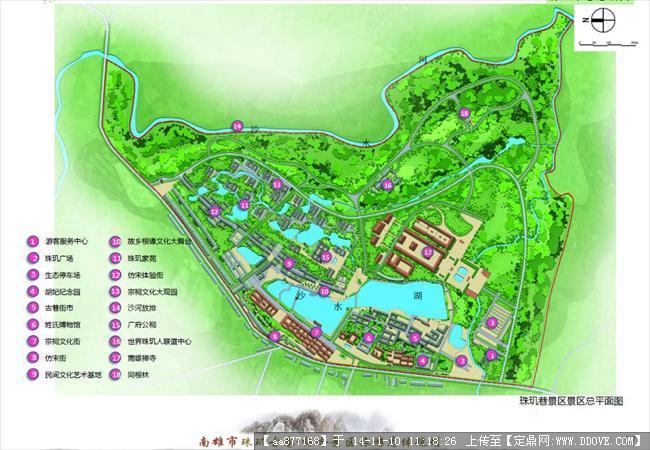 某市景区旅游总体规划设计方案文本