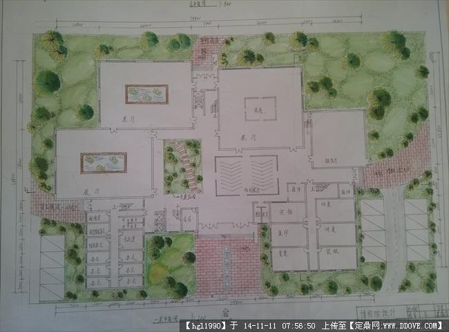 此方案为城市历史博物馆设计,很值得参考的设计图纸.