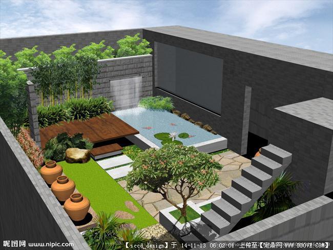坡屋顶装修效果图_图片素材