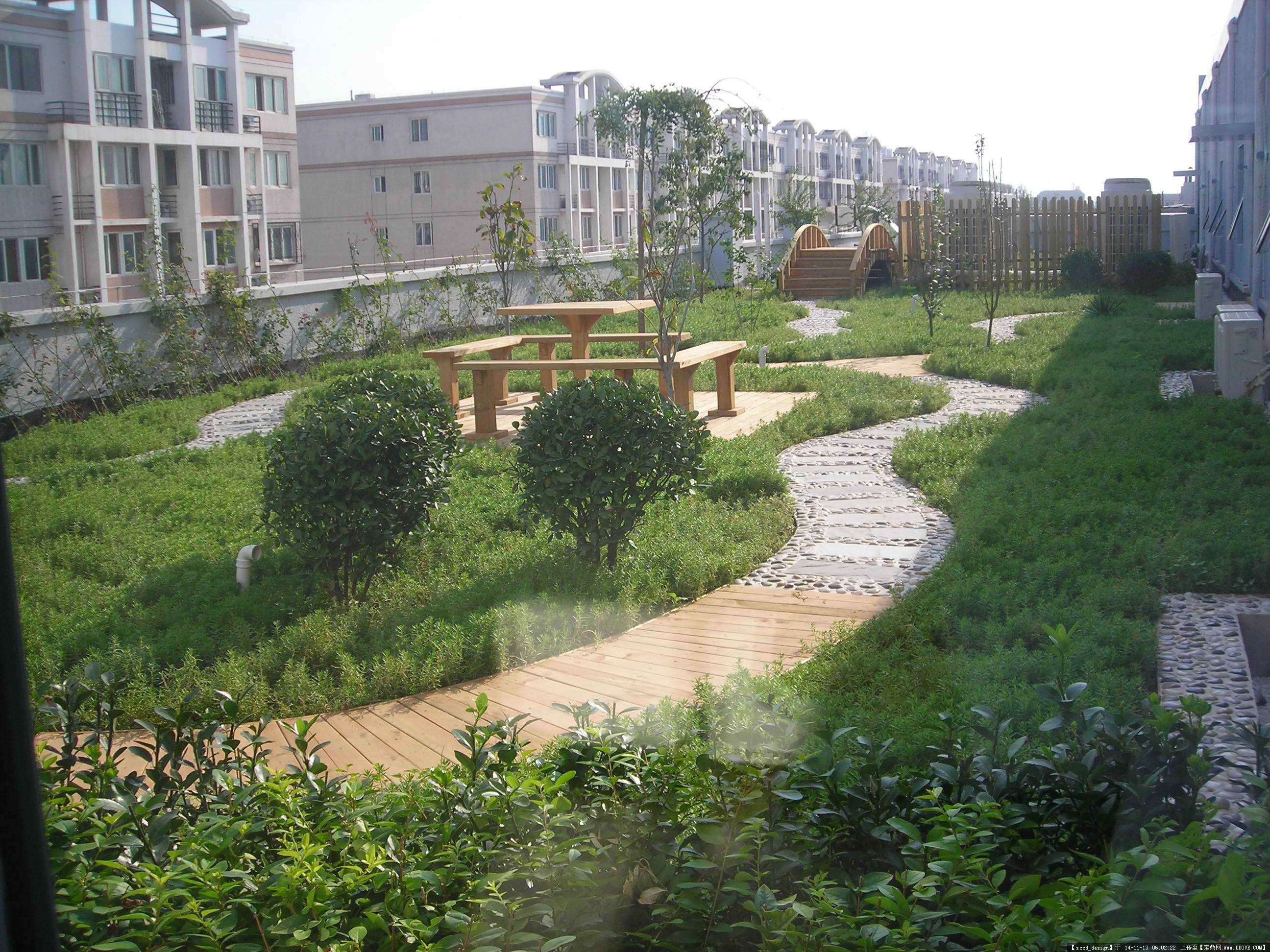 法屋顶花园设计实景图分享展示
