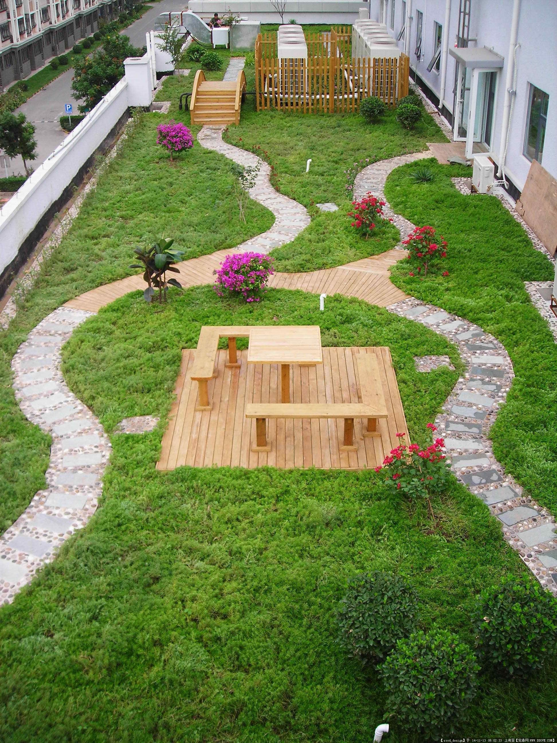 定鼎网 定鼎园林 园林方案设计 花园庭院 屋顶花园设计的一些资料图片
