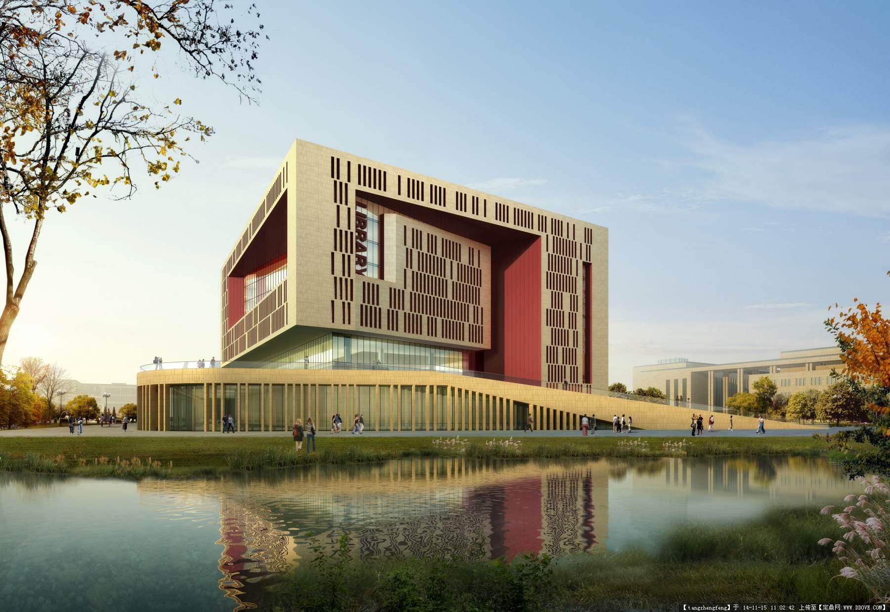 建筑景观效果图图片的图片浏览,建筑效果图,公共建筑