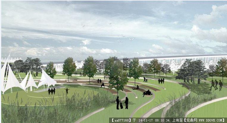 定鼎网 定鼎园林 园林设计文本 公园景观 某生态城文化主题公园规划设