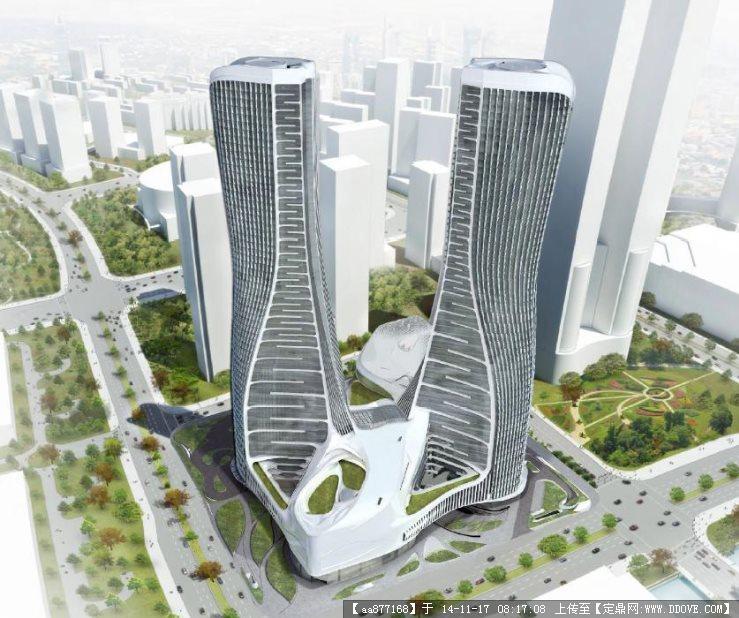 杭州某大型商业广场景观设计2011