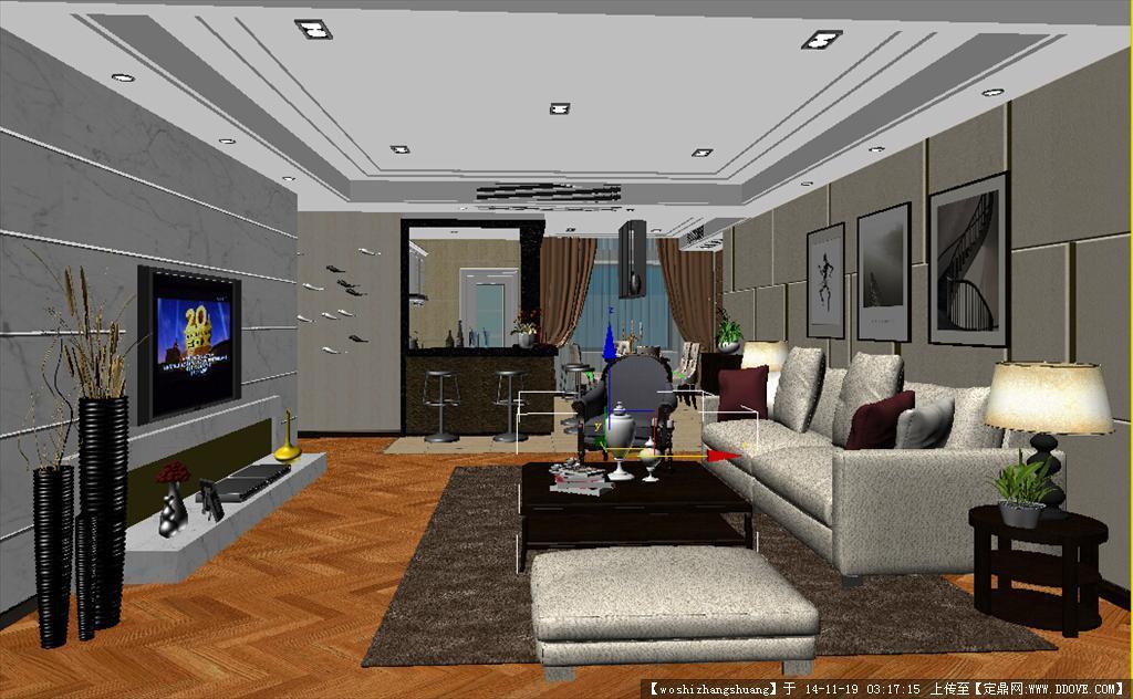 室内模型 max9 源文件 带贴图 家具 室内效果图 家装 公高清图片