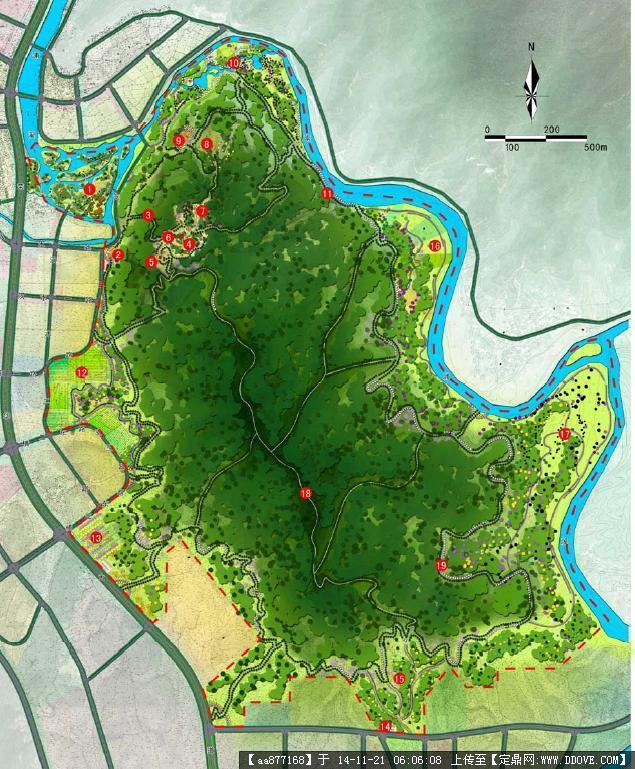 某森林公园总体规划设计方案文本,很详细的一套设计方案,很