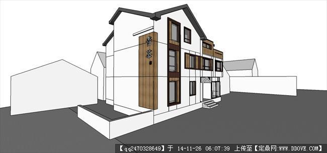 民宿建筑设计方案的下载地址