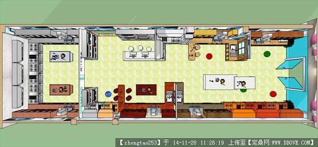 厨柜展厅装饰设计案例