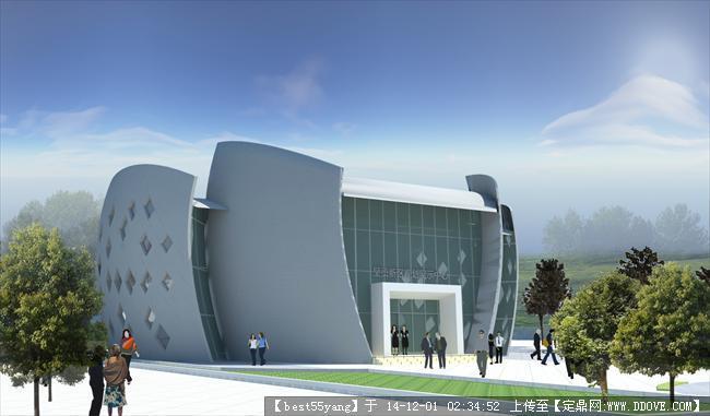 小型展览馆建筑设计方案的下载地址