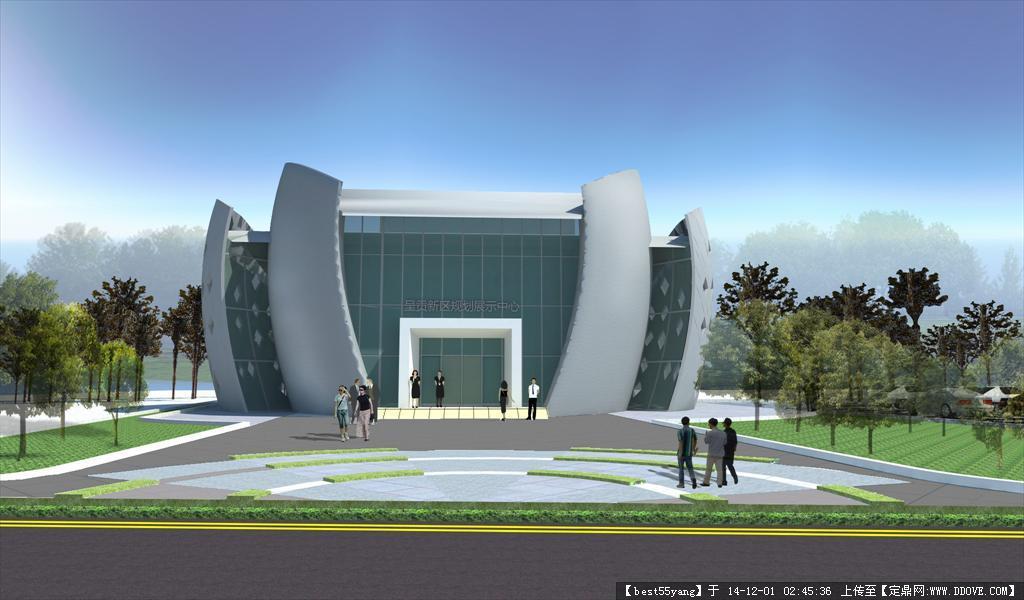 小型展览馆建筑设计方案