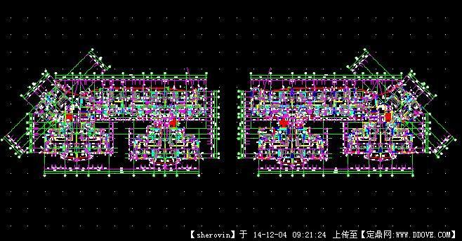 新农村自建房住宅cad图纸   高层住宅建筑cad设计图   施