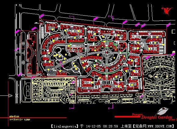 北京某别墅设计方案带效果图 小区规划(含平面效果) 别墅建筑方案设计