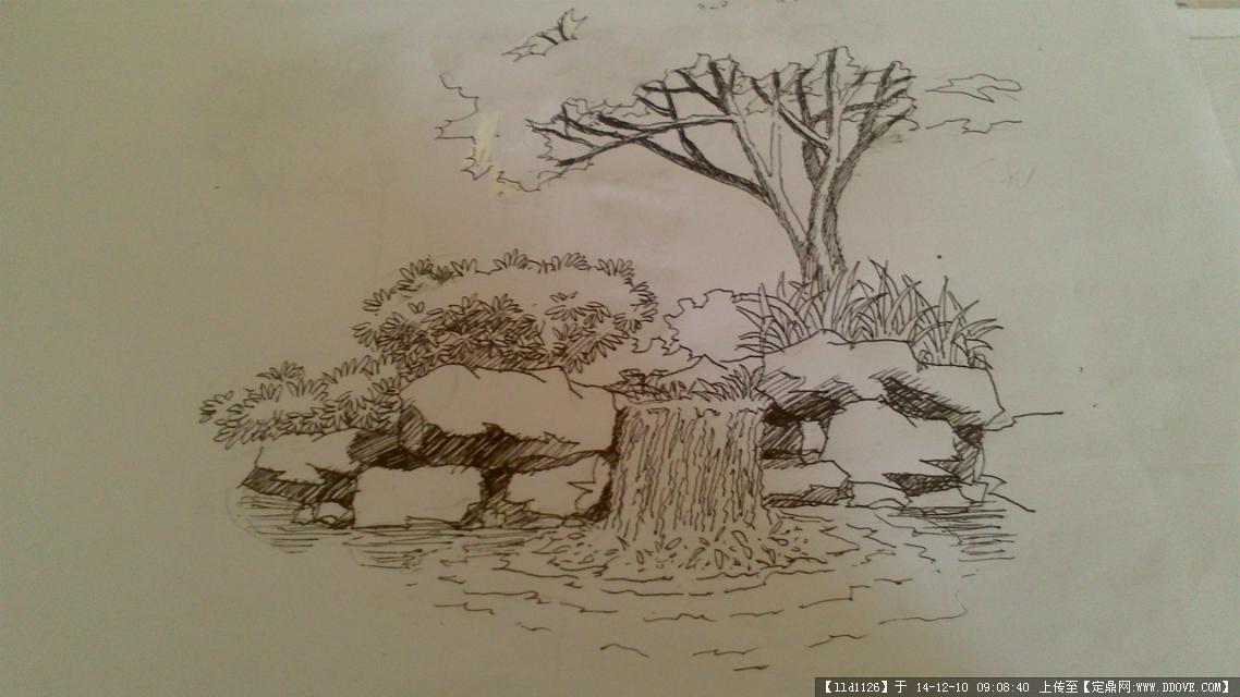 公园广场园林景观手绘效果图的图片浏览,园林效果图