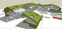 小天使幼儿园SketchUp精细设计模型