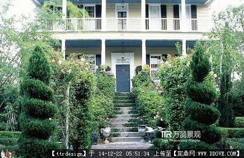 经典欧式别墅庭院