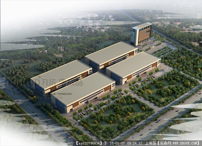 增城厂房规划设计方案图