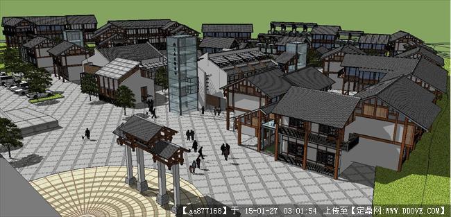 古建筑模型制作步骤图解