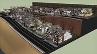 别墅区模型