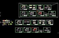 电器展厅CAD