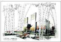 一千张建筑快题手绘