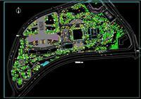 园林景观施工图(植物配置)