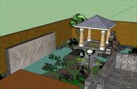 私人庭院 设计