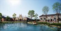 都江堰黑石河商业建筑设计效果图