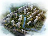 华新镇居住建筑设计效果图