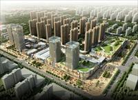 大庆让胡路商业建筑设计效果图
