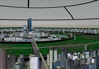 未来城市规划   SU(草图大师)精细模型